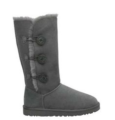 UGG Bailey Button Triplet 1873 Boots Gray