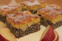 Makový koláč s jablkami