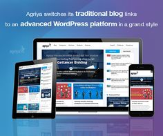 Agriya is excited to invite all readers to our upgraded blog. The entire look and feel of our traditional blog platform get completely altered with the launch of the new blog. It is responsive and mobile compatible to add the convenience of every user.   Check out our upgraded Blog here, https://blogs.agriya.com/