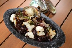 Coconut Oil�Poached Big Island Abalone