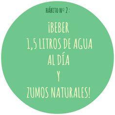HÁBITO Nº2 Chart, Motivation, Live, Healthy, Food, Health, Inspiration