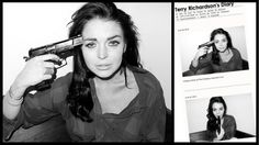 Lindsay Lohan Poses With a Gun for Controversial Fashion Photographer Terry Richardson