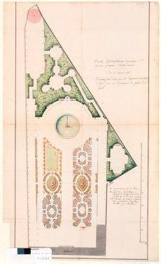 Garden of Hotel d'Antin 1756 | Historical Gardens