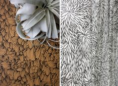 These striking patterns are the creation of Jennifer Hunt, the founder and designer of Poppy. Poppy is a print studio offering designer products and service