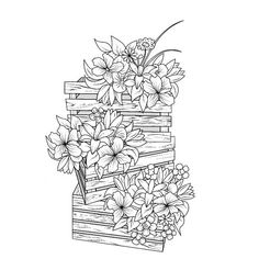 Quote Coloring Pages, Adult Coloring Book Pages, Flower Coloring Pages, Disney Coloring Pages, Colouring Pages, Coloring Books, Floral Embroidery Patterns, Lace Painting, Ink Illustrations