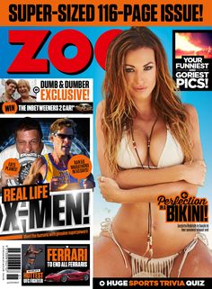 Get your digital subscription/issue of Zoo Weekly Australia-Issue 458 Magazine on Magzter and enjoy reading the magazine on iPad, iPhone, Android devices and the web. Trivia Quiz, You Funny, Dumb And Dumber, String Bikinis, Real Life, You Got This, Australia, Windows 8, Digital