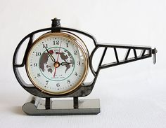 Vintage alarm clock retro desk clock working double bell metal clock vintage alarm clock helicopter clock new old stock wind up mechanical chinese desk clock old table clock world map working retro home decor gumiabroncs Image collections