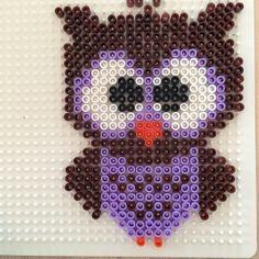 Owl perler beads by karolinil