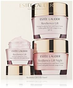 Estee Lauder 3 Piece Resilience Lift 3ToTravel for Face and Eye Kit for Unisex >>> Read more at the affiliate link Amazon.com on image.