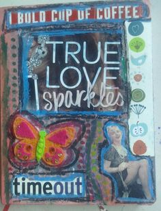 Tutorial: Mixed Media Art Journal – Dollar Store Style