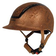 Uvex Paisley Gold Helmet! Big Yes!