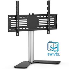 """This universal TV stand looks simple, elegant and won't take a lot of sapce. It is a conbination of shelf and mount.This Universal TV Stand is your solution. It's small space size make it perfect for TV and can still hold your components and DVDs! The included mount holds 32"""" to... more details available at https://furniture.bestselleroutlets.com/game-recreation-room-furniture/tv-media-furniture/television-stands-entertainment-centers/product-review-for-fitueye"""