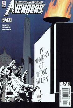 Cover for Avengers (Marvel, 1998 series) #55 (470) [Direct Edition]