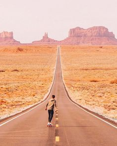 and the adventures continue. Voyage En Camping-car, Road Trip, Destinations, Nature Music, Skateboard Girl, France, Skateboards, Monument Valley, Country Roads