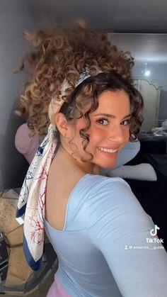 Curly Hair Tips, Curly Hair Styles, Natural Hair Styles, Curly Hair Ponytail, Hair Upstyles, Hair Affair, Hair Videos, Hair Today, Hair Looks