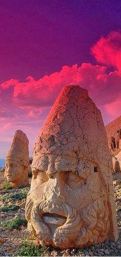 Mountain of the Gods, Mount Nermut, Turkey