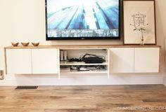 Image result for ikea besta floating tv bench