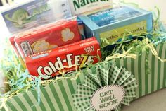 Cold, Cough and Flu Gift Kit