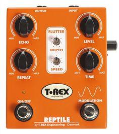 T Rex Reptile Modulation Delay Pedal