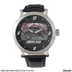 1975 C30 Crew Cab Wrist Watches