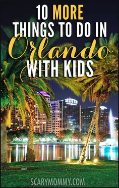 There's more to Orlando, Florida than that famous theme park. Here are ten other travel ideas and fun things to do in Orlando with kids you won't want to miss! summer | spring break | family vacation | parenting advice