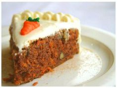 My best carrot cake recipe for an organic carrot cake Healthy Carrot Cakes, Best Carrot Cake, Healthy Cake Recipes, Dessert Recipes, Frosting Recipes, Recipes Dinner, Dinner Ideas, Amish Recipes, Easy Recipes