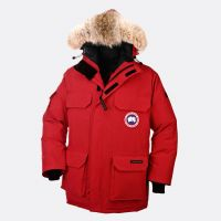CANADA GOOSE MEN'S EXPEDITION PARKA RED Canada Goose takes pride in creating authentic gear to help real people living in extreme conditions battle the elements #menouterwear
