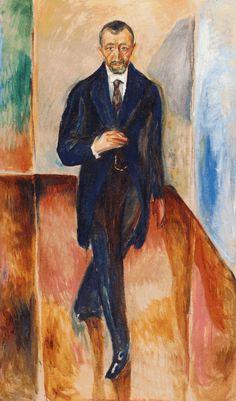 Thorvald Løchen 1917. Edward Munch (1863-1944)