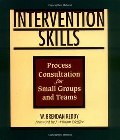Intervention Skills: Process Consultation for Small Groups and Teams by W. Brendan Reddy