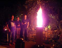 Feuerschalen & -stellen - Schwedenfeuer der Xtra-Klasse  - ein Designerstück von Twoody bei DaWanda