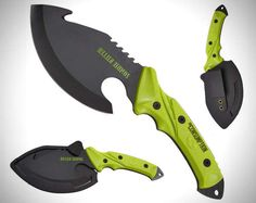Survive an Undead Apocalypse with the Shock & Awe Zombie Killer Knife trendhunter.com