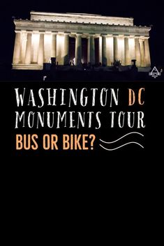 If you're trying to decide how to see the monuments in Washington DC, read about our bus tour and bike tour to help you decide what's best for your family! Travel With Kids, Family Travel, Washington Dc Vacation, Dc Monuments, Amazing Adventures, Travel Information, Best Vacations, Amazing Architecture, Budget Travel