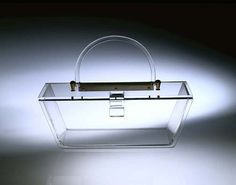 Lucite plastic purse, ca. 1950 by Missouri History Museum, via Flickr
