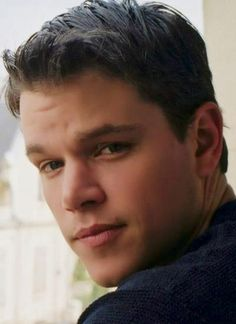 matt damon yes yes yes - I once had a boyfriend that looked like him in 1998