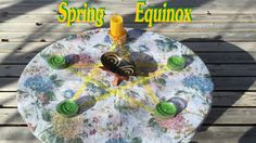 The Spring Equinox, Ostara Ritual, Altar Candle