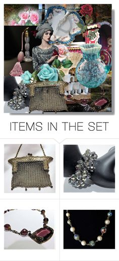 """""""Sweet Gypsy Rose"""" by pattysporcelainetc ❤ liked on Polyvore featuring art, vintage and country"""