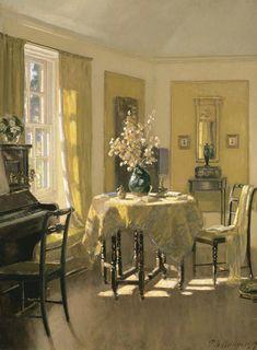 Patrick William Adam, morning room interior