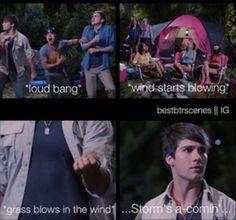 Hahaha big time camping!