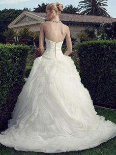 casablanca 2145 wedding dress 02.707 Casablanca Bridal Collection Spring 2014