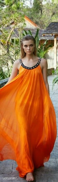 Tropical Oasis  Gorgeous Free Flowing Maxi Dress | LadyLuxuryDesigns