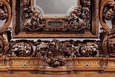 Truly Remarkable Italian Carved Sideboard, 1878 | From a unique collection of antique and modern sideboards at https://www.1stdibs.com/furniture/storage-case-pieces/sideboards/