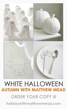 Love the white pumpkins!!!! I will have to do this for fall this year!