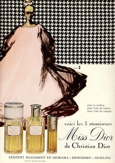 Miss Dior ad from 1967.