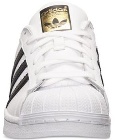 adidas Women's Superstar Casual Sneakers from Finish Line - White 11