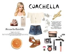 """""""Coachella Outfit"""" by tripletrouble-69 ❤ liked on Polyvore featuring NLY Accessories, Chanel, Bobbi Brown Cosmetics, Armani Beauty, Bling Jewelry, POP, NARS Cosmetics, Yves Saint Laurent, Topshop and Casetify"""