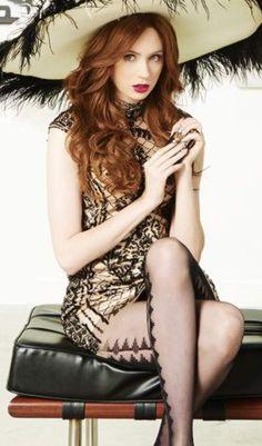 Karen Gillan, Satin Dresses, Stockings, Celebrities, Sexy, How To Wear, Fashion, Socks, Moda
