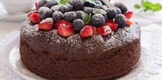 Flourless Hazelnut Chocolate Cake / Over Sixty