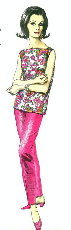 Vogue Couturier Design 1394, designed by Emilio Pucci of Italy