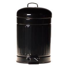 3 Liter Abfalleimer Metall Treteimer Eimer Badeimer Kosmetikeimer Mülleimer | eBay