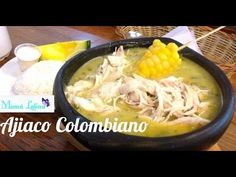 Ajiaco Colombiano (Colombian Chicken and Potato Soup) My Colombian Recipes, Colombian Cuisine, Soup Recipes, Great Recipes, Favorite Recipes, Comida Latina, Latin Food, Potato Soup, Healthy Soup